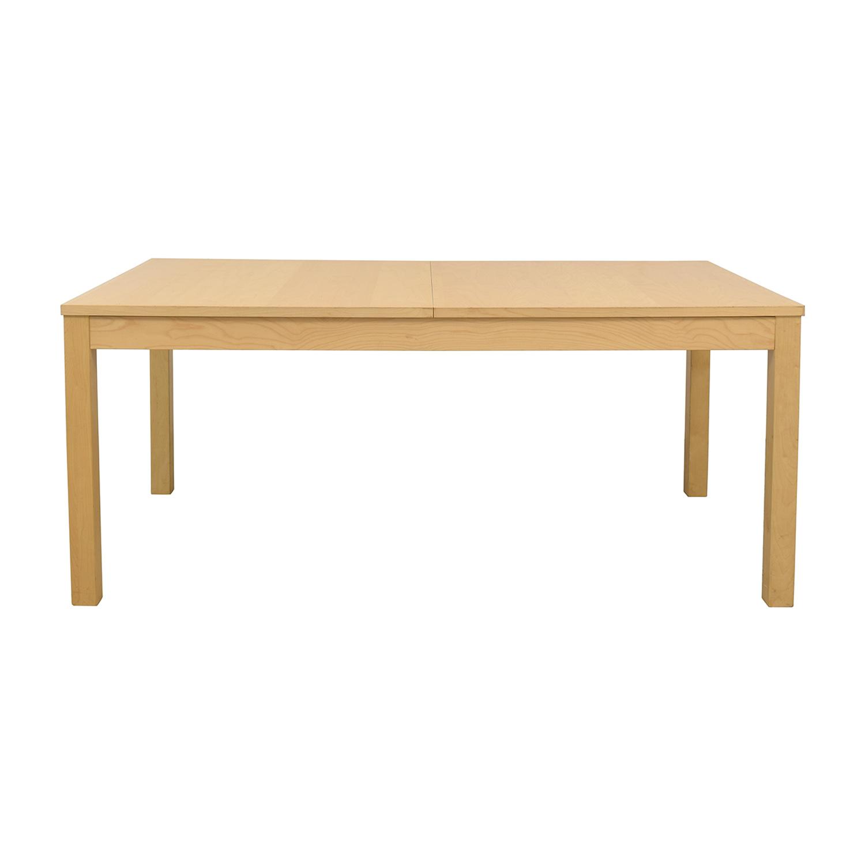 IKEA Bjursta Blonde Expandable Table sale