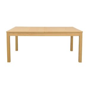 IKEA Bjursta Blonde Expandable Table IKEA