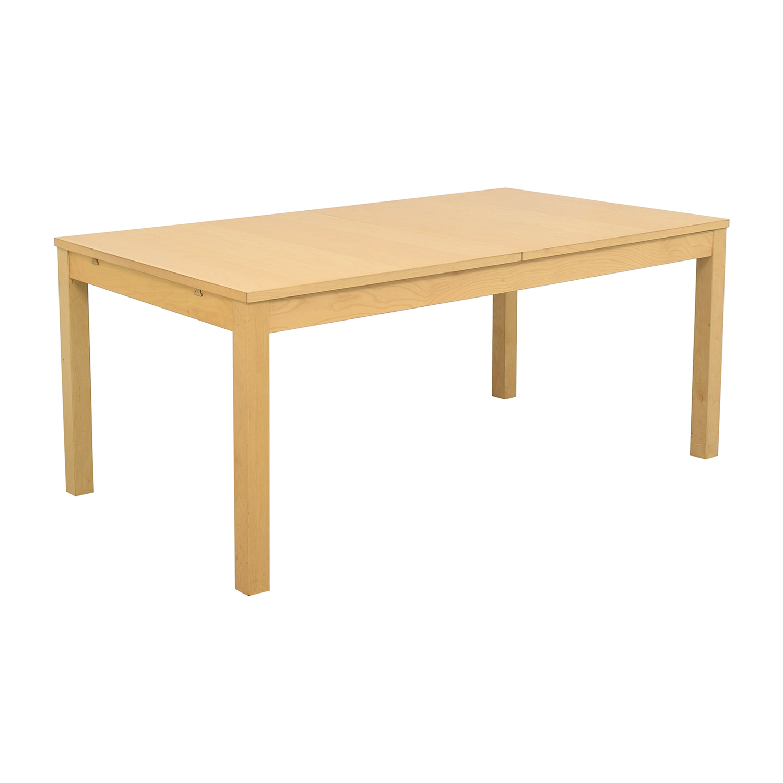 IKEA IKEA Bjursta Blonde Expandable Table for sale