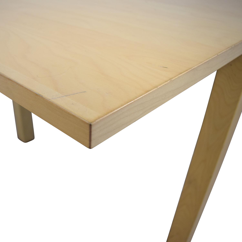 Ikea Bjursta Blonde Expandable Table Dinner Tables