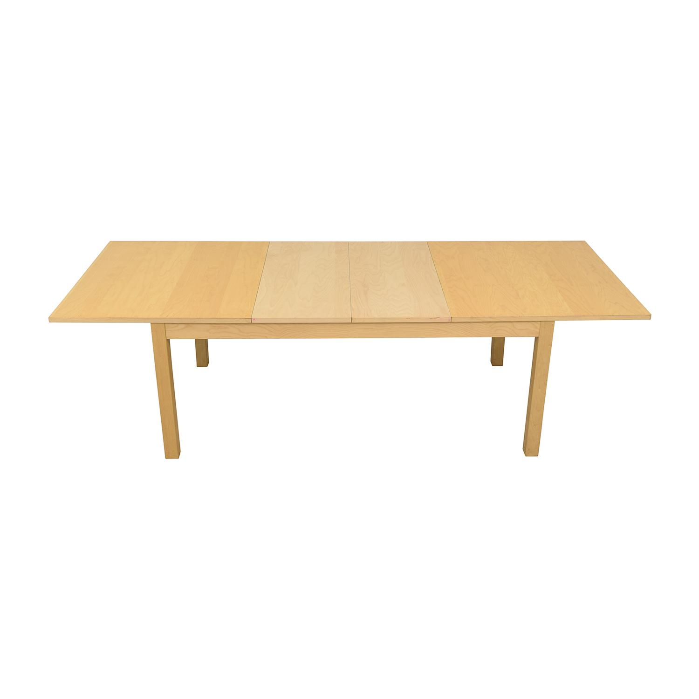 IKEA IKEA Bjursta Blonde Expandable Table on sale