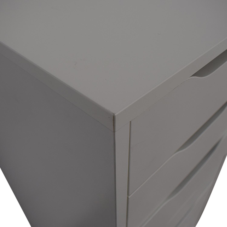 buy IKEA IKEA White Nine-Drawer Tall File Cabinet online