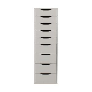buy IKEA White Nine-Drawer Tall File Cabinet IKEA