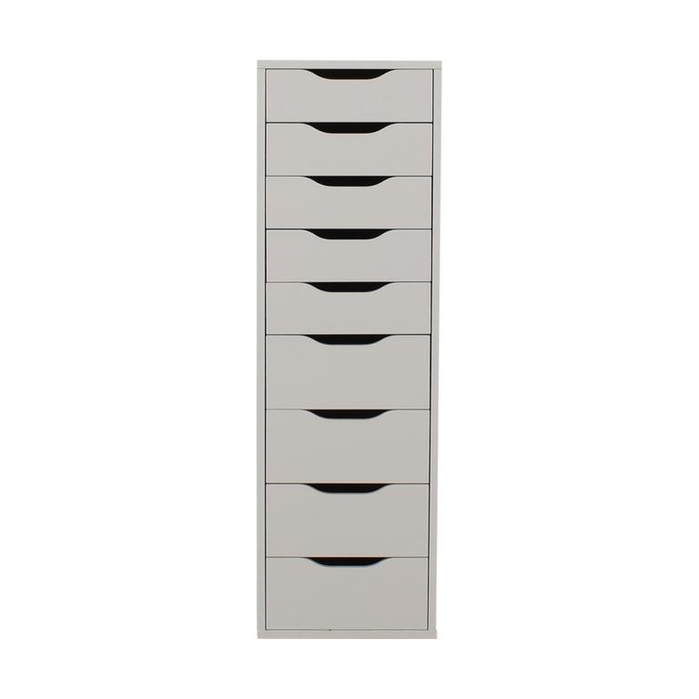 shop IKEA IKEA White Nine-Drawer Tall File Cabinet online