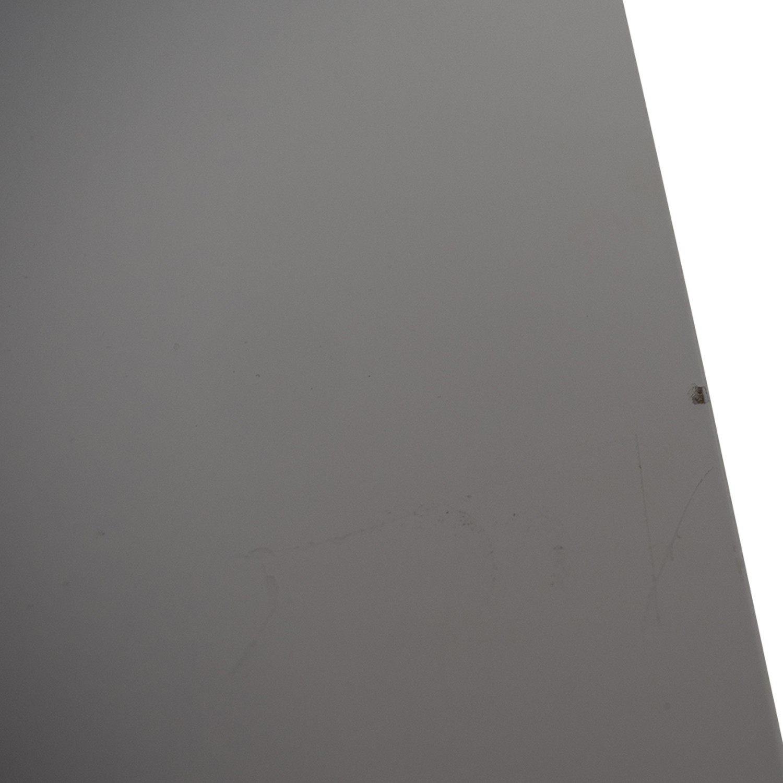 IKEA IKEA White Nine-Drawer Tall File Cabinet second hand