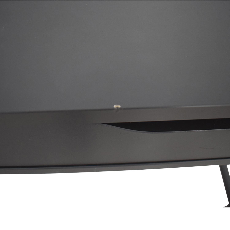 IKEA IKEA Alex Grey Two-Drawer Desk dark grey