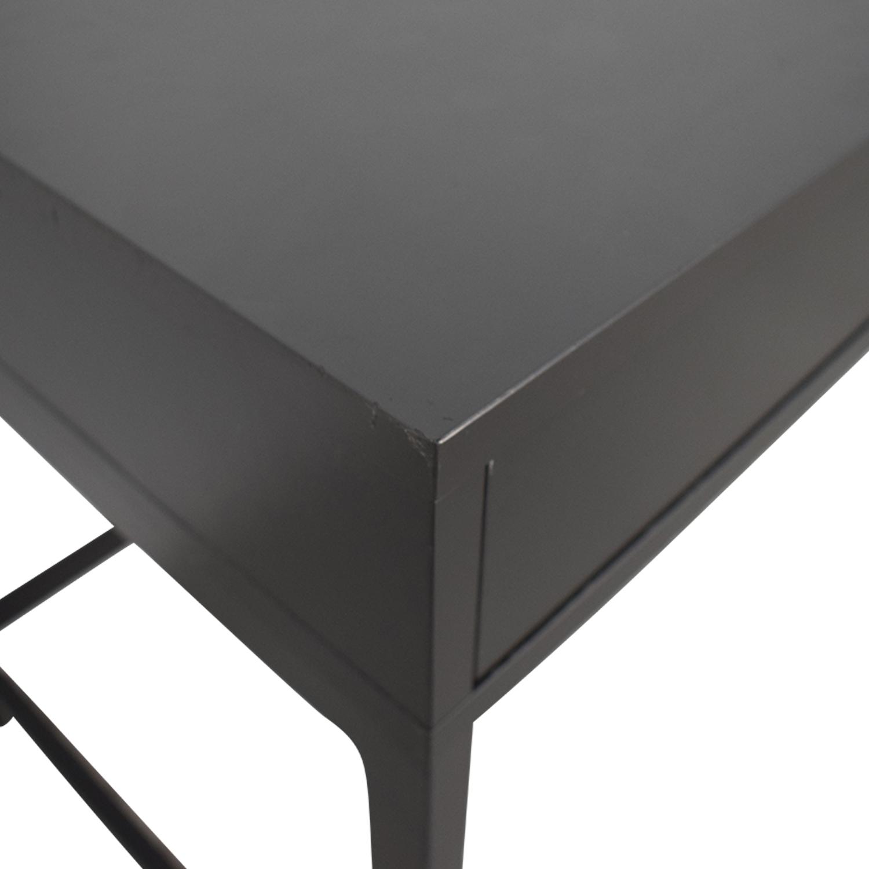 buy IKEA Alex Grey Two-Drawer Desk IKEA