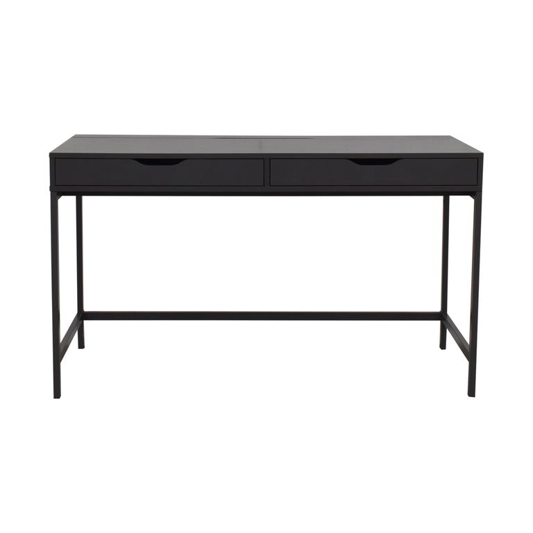 IKEA IKEA Alex Grey Two-Drawer Desk nj