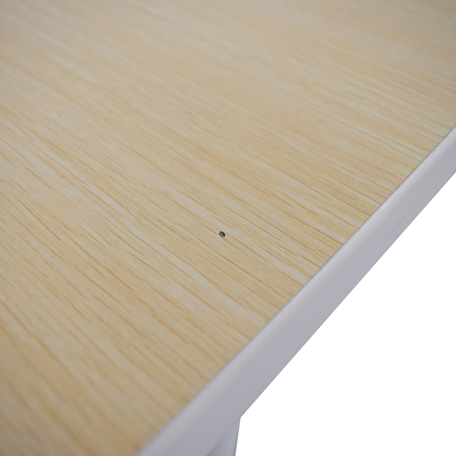Poppin Series A Natural Oak Double Desk Poppin