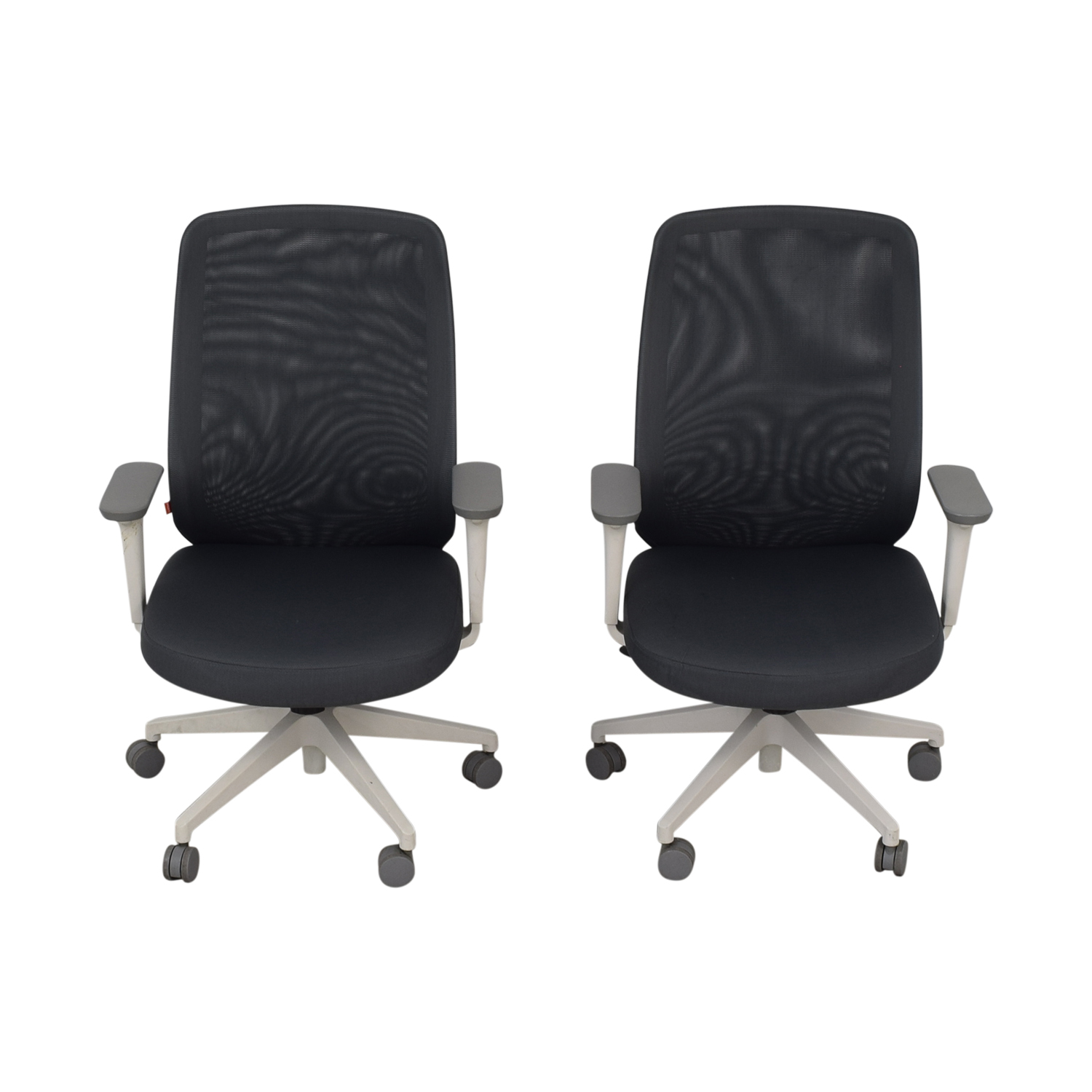 Poppin Poppin Gray Max Task Chairs discount