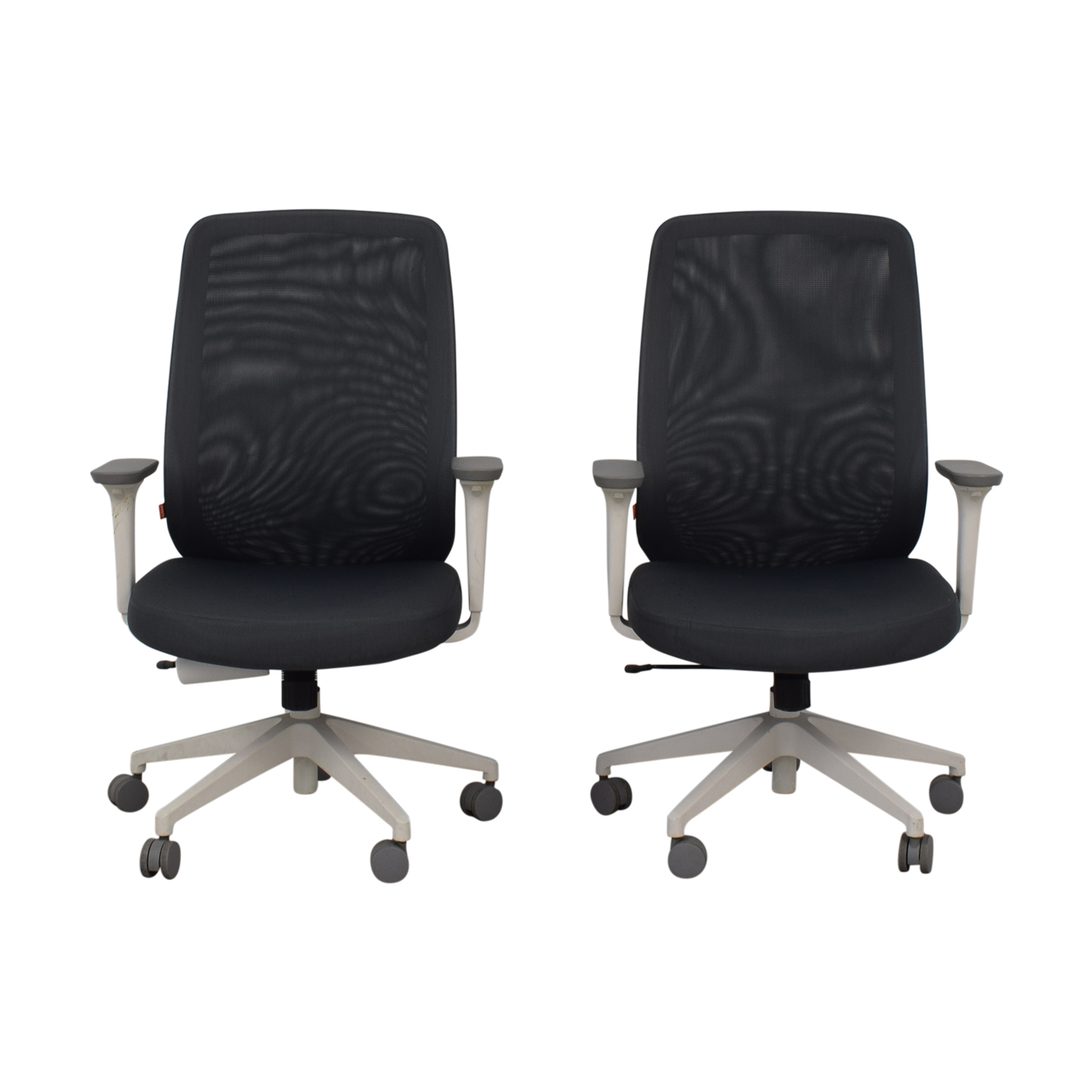 Poppin Gray Max Task Chairs / Chairs
