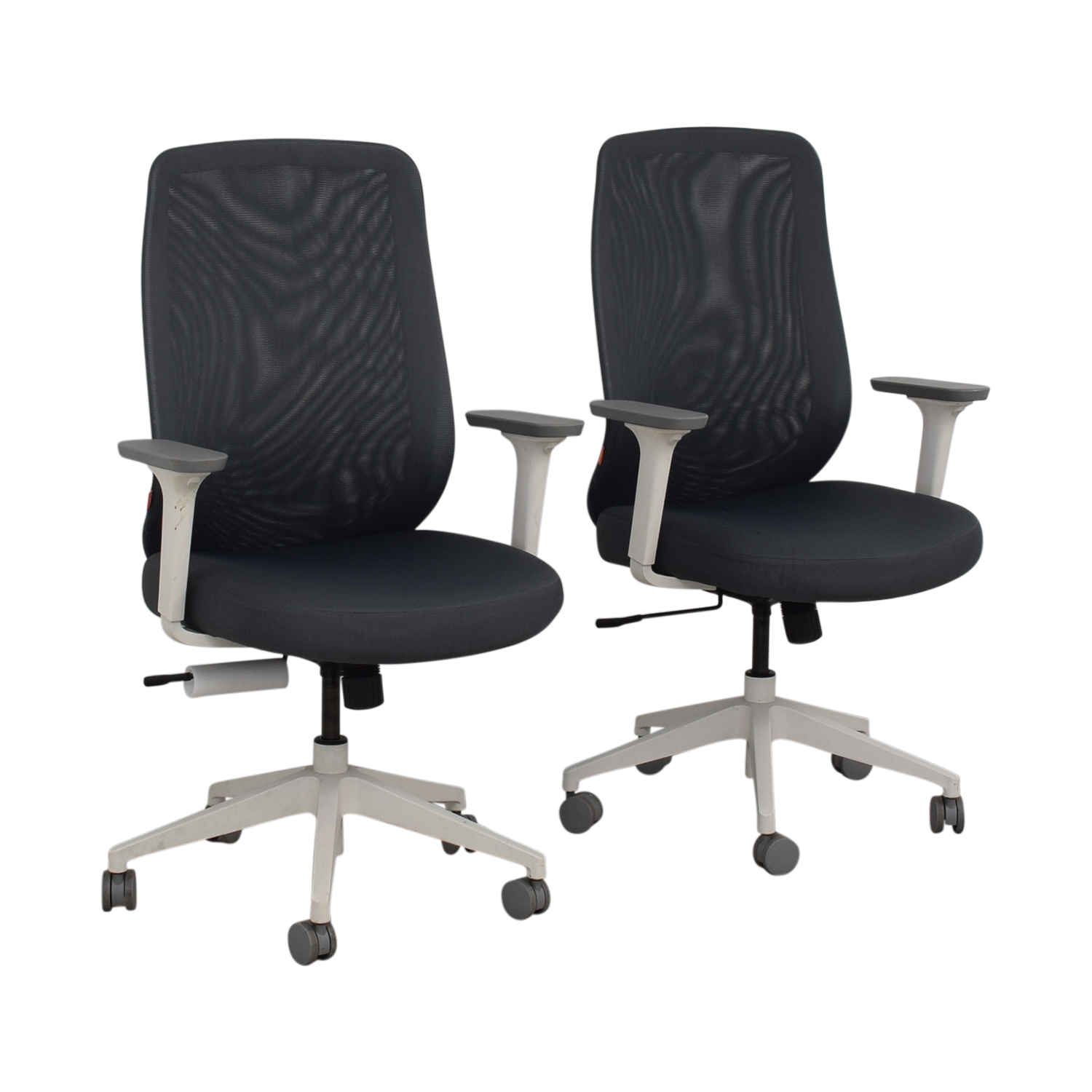 Poppin Poppin Gray Max Task Chairs Home Office Chairs