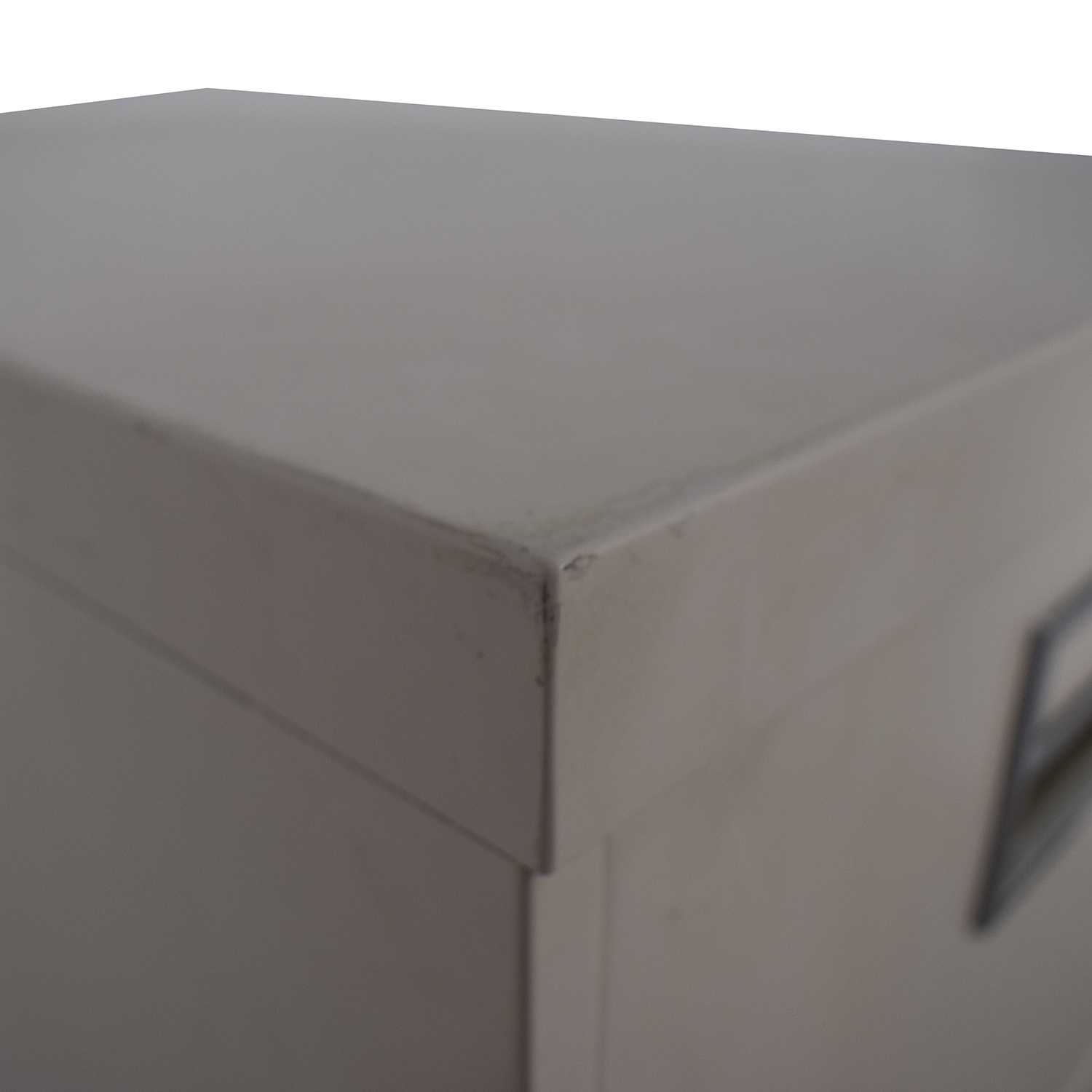 White Five-Drawer Filing Cabinet coupon