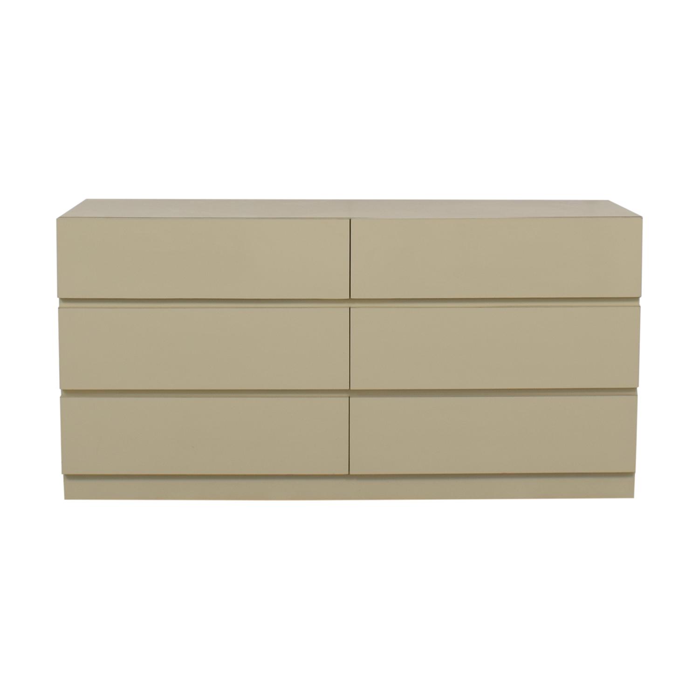 buy Custom Made Six-Drawer Dresser  Storage