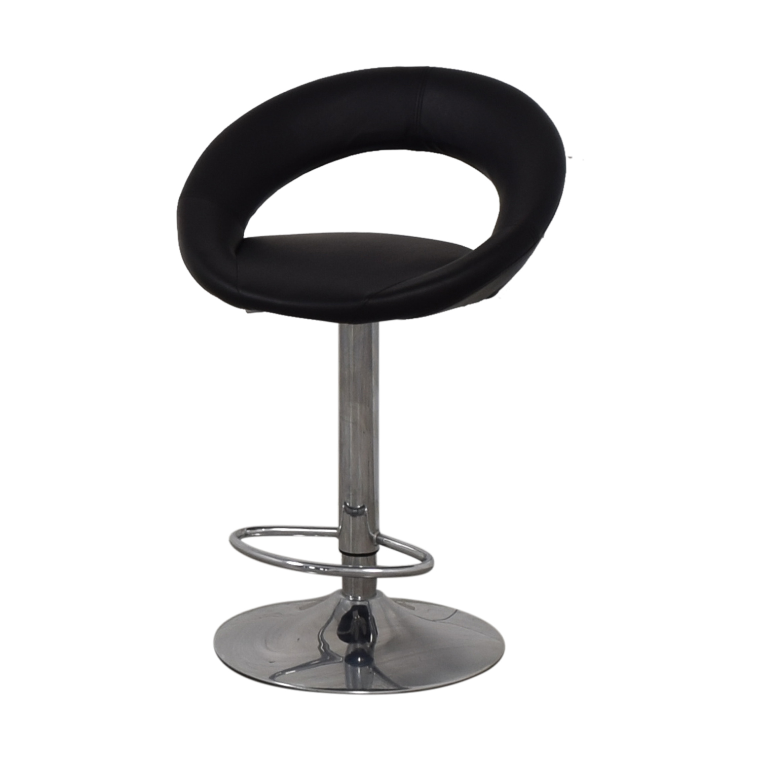 Lumisource Lumisource Kathleen Black Bar Stool discount