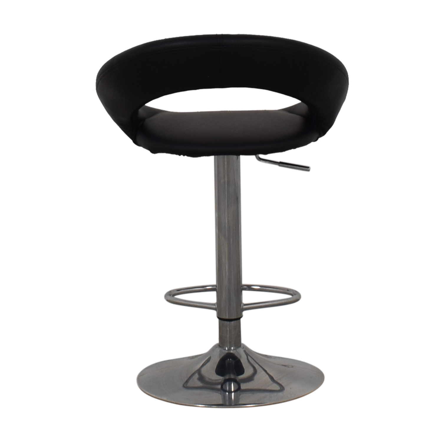 Lumisource Lumisource Kathleen Black Bar Stool for sale