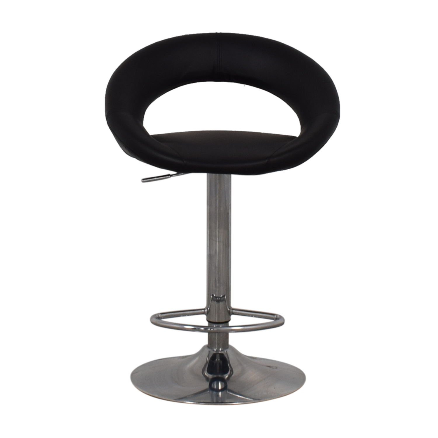 Lumisource Lumisource Kathleen Black Bar Stool on sale