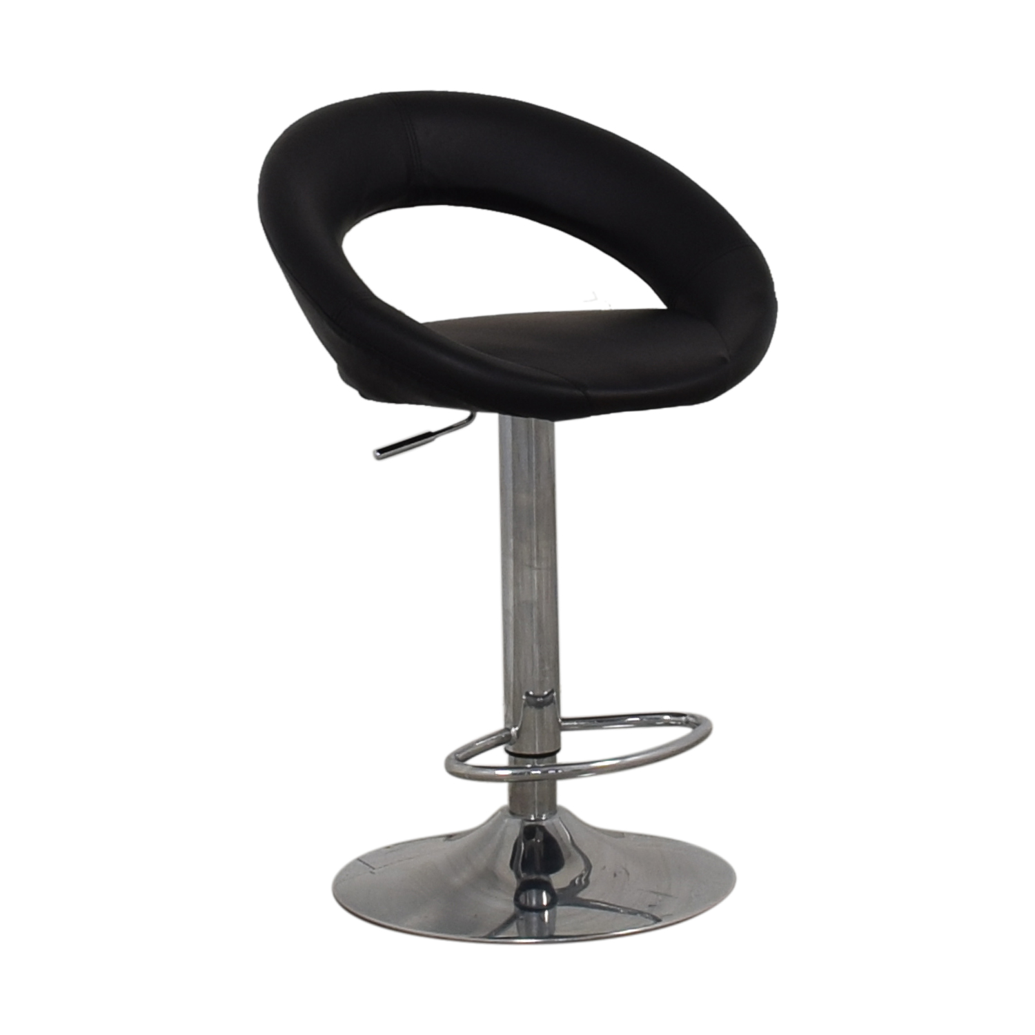 shop Lumisource Kathleen Black Bar Stool Lumisource Chairs