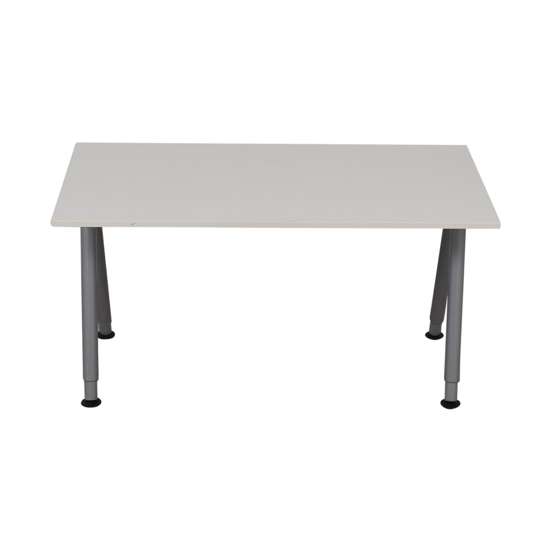 IKEA IKEA Thyge White Desk dimensions