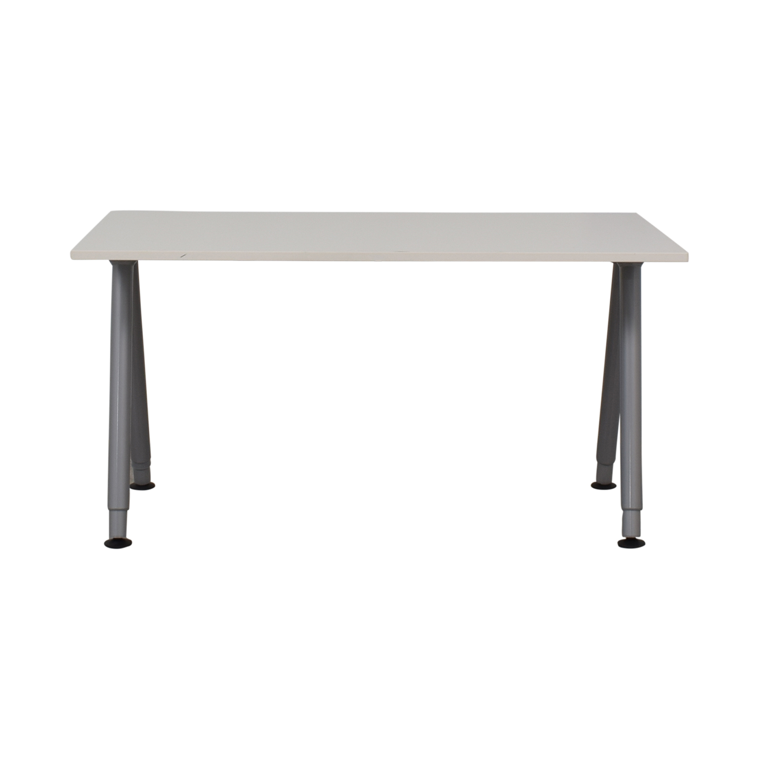 90 Off Ikea Ikea Thyge White Desk Tables