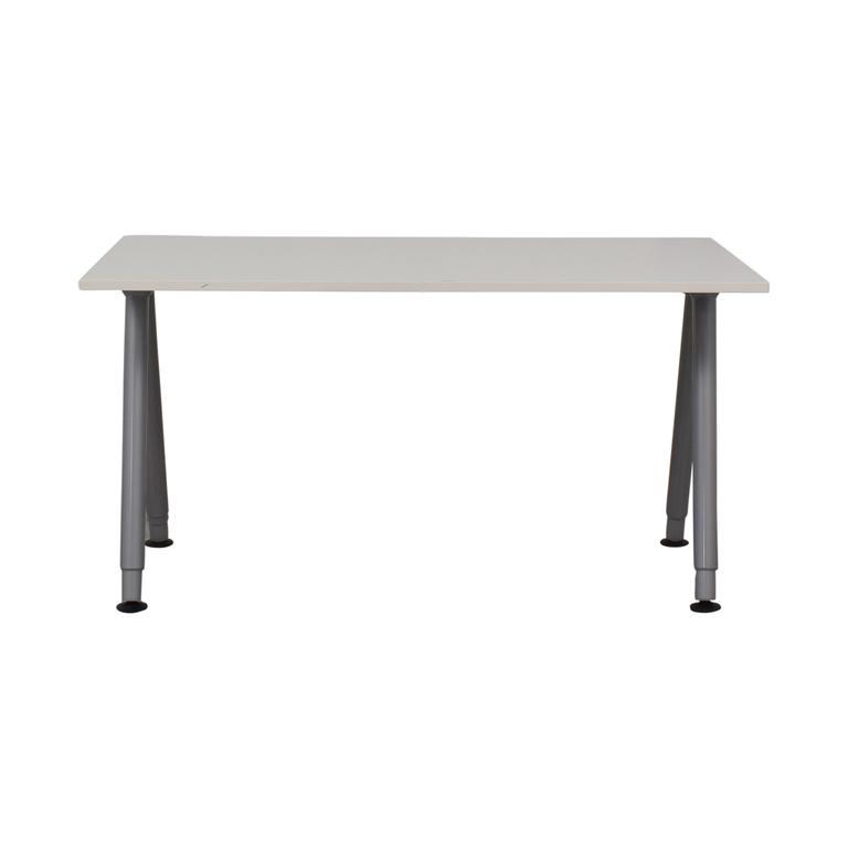 shop IKEA Thyge White Desk IKEA Tables