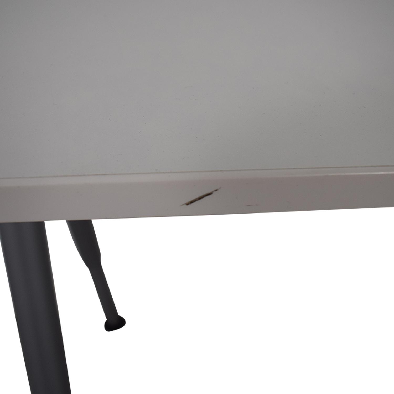 IKEA IKEA Thyge White Desk nj
