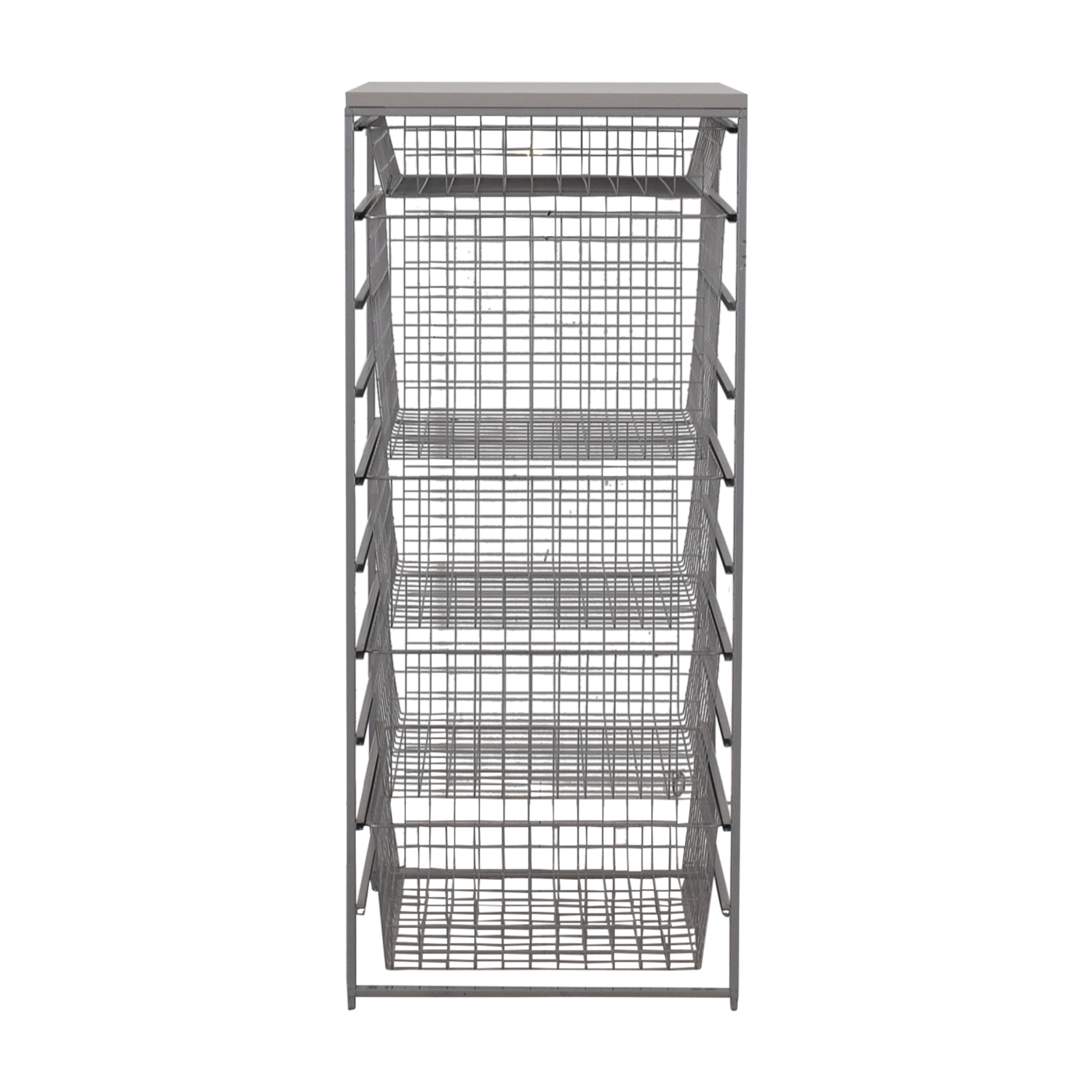 buy Elfa Elfa Platinum Metal Storage Rack online