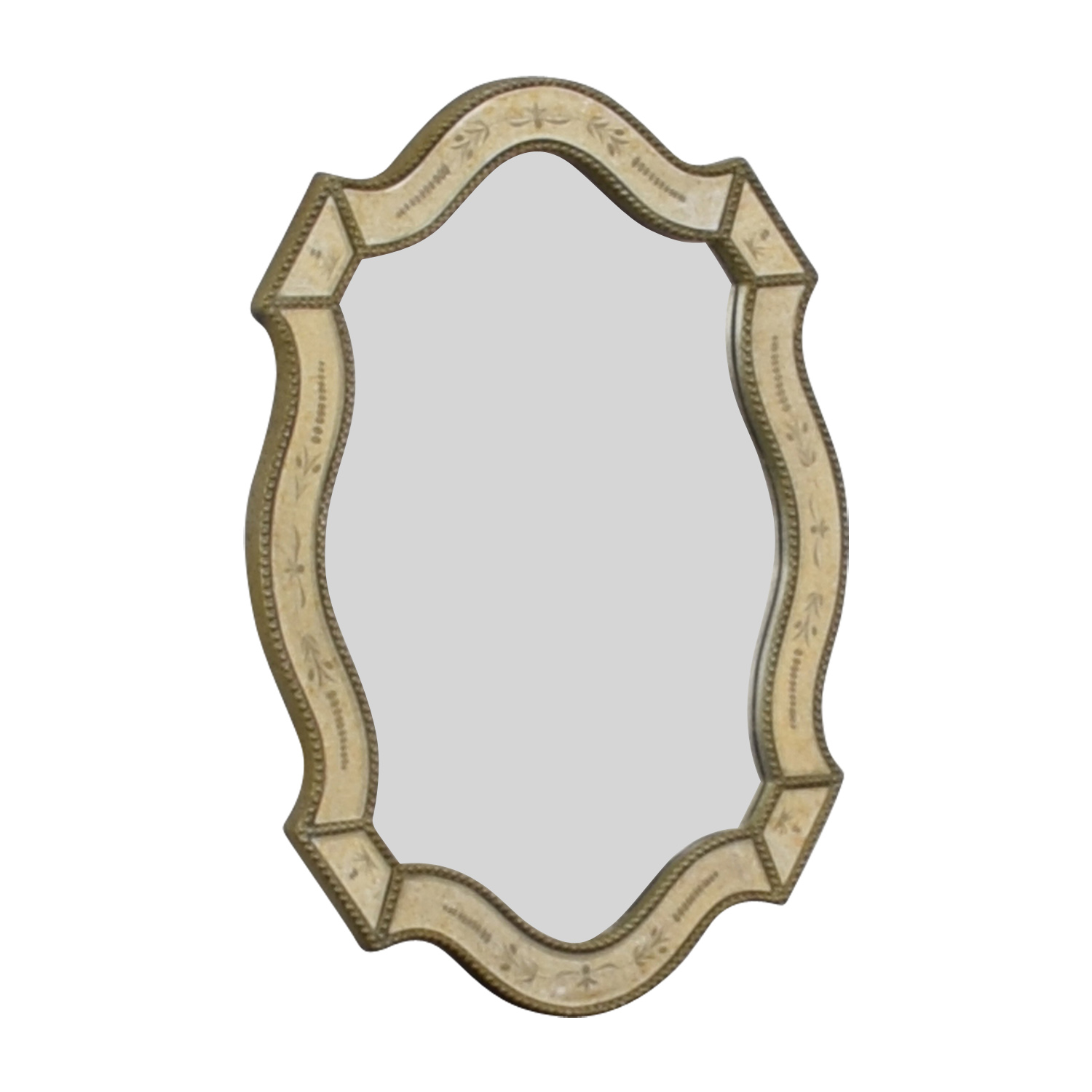 Uttermost Uttermost Distressed Gold Framed Wall Mirror for sale