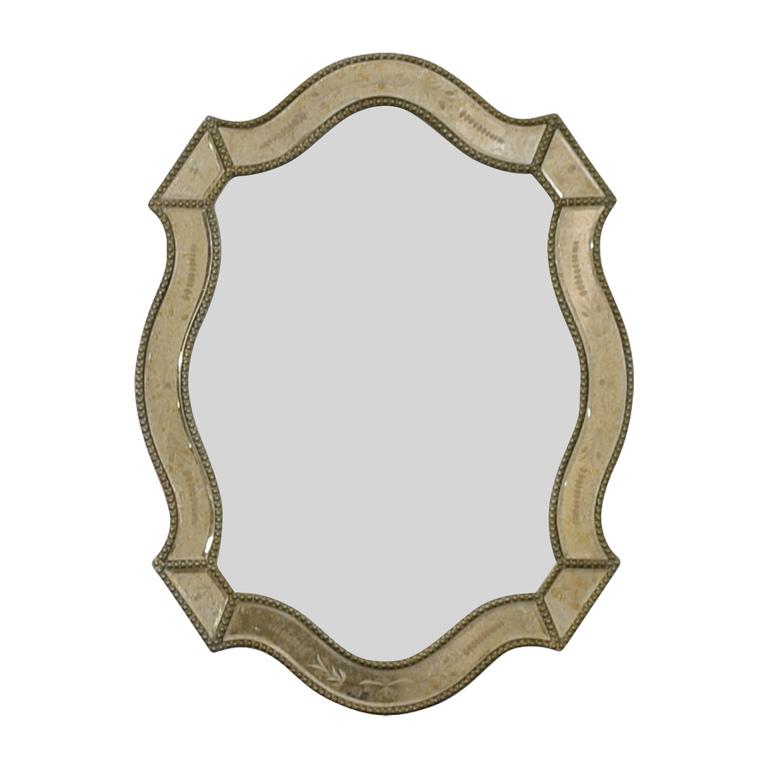 Uttermost Uttermost Distressed Gold Framed Wall Mirror