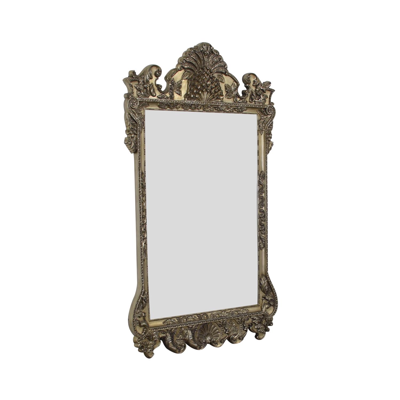 Howard Elliott Carved Framed Floor Mirror / Decor