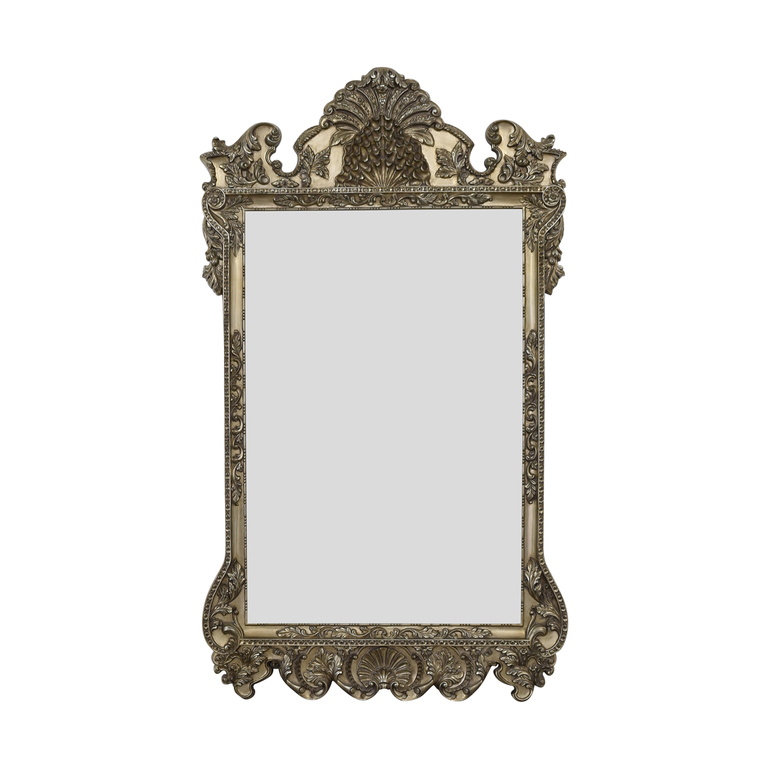 Howard Elliott Carved Framed Floor Mirror sale