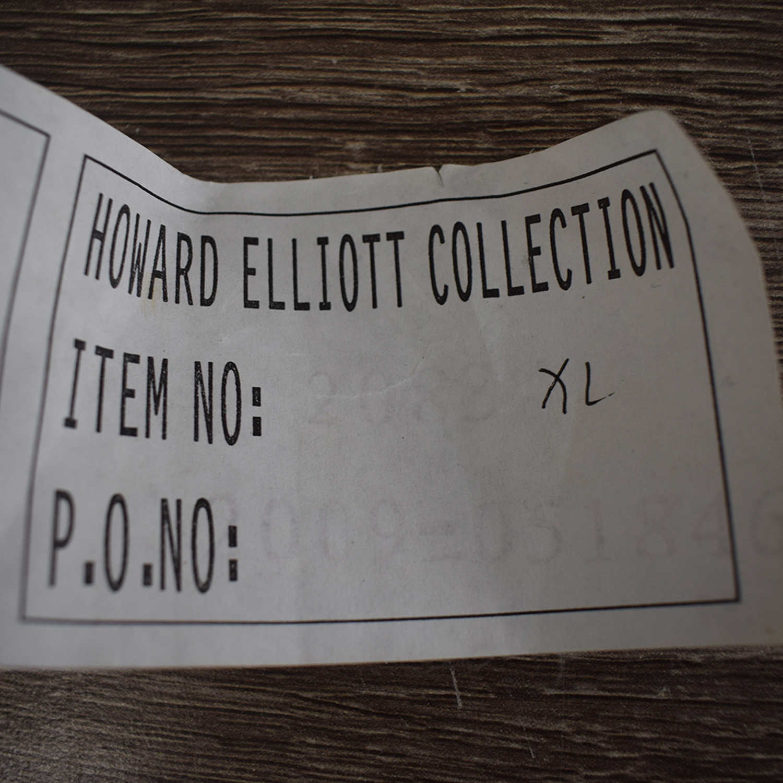 Howard Elliott Howard Elliott Carved Framed Floor Mirror second hand
