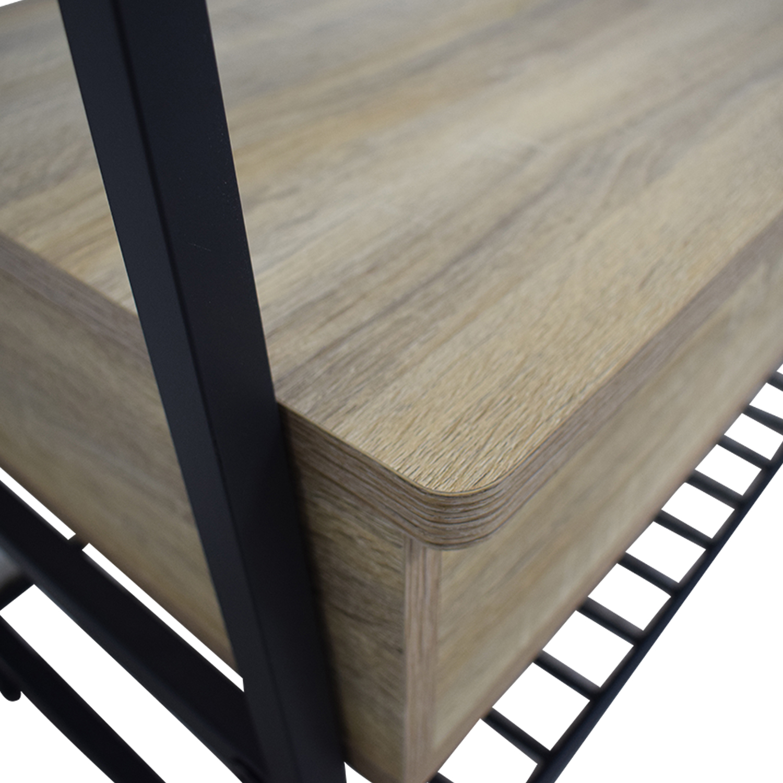 Sauder Sauder Flip Up Wood and Metal Storage Bench on sale
