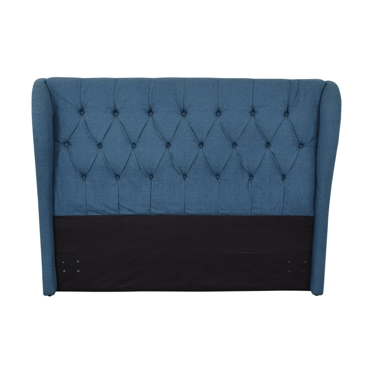 Blue Upolstered Tufted Queen Headboard / Headboards