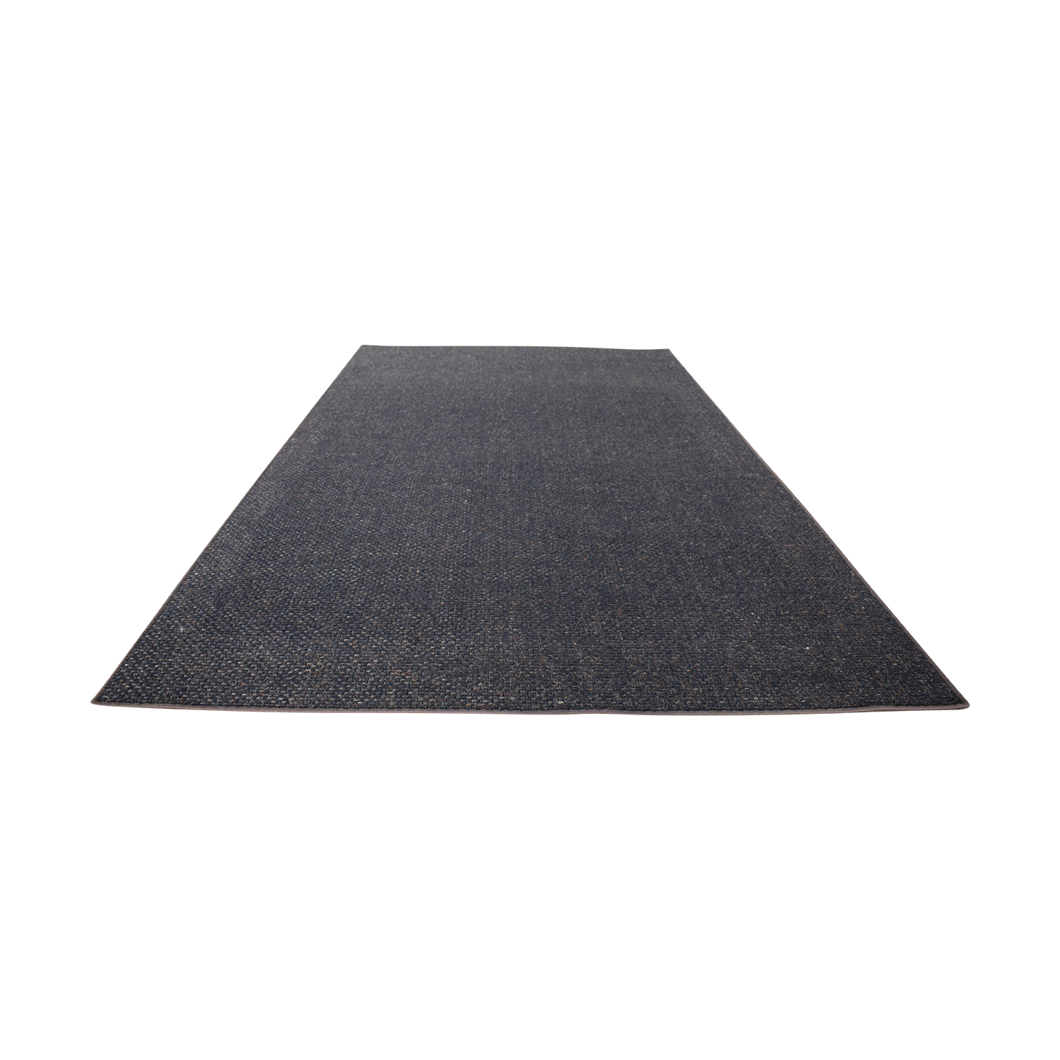 Merida Merida Dark Gray Rug used