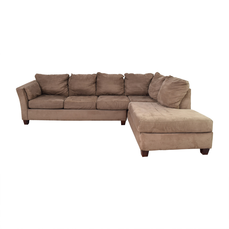 American Furniture American Furniture L-Shaped Sectional dimensions