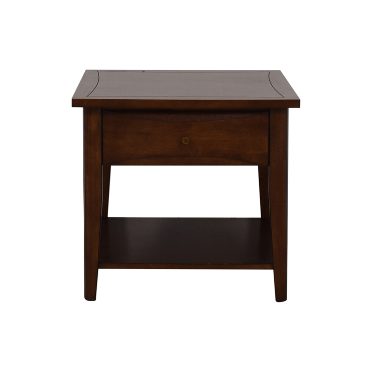 Coaster Coaster Single Drawer Broad End Table nyc