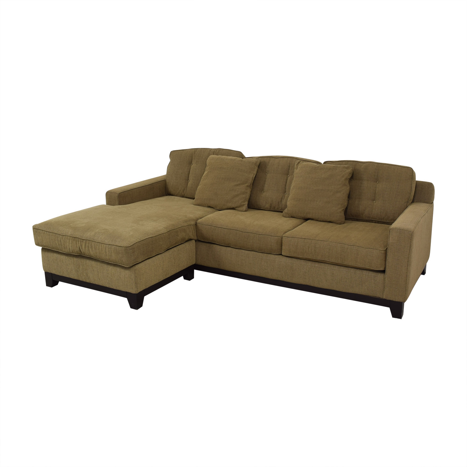Pleasing 56 Off Jonathan Louis Jonathan Lewis Brown Sectional Sofa Sofas Ocoug Best Dining Table And Chair Ideas Images Ocougorg