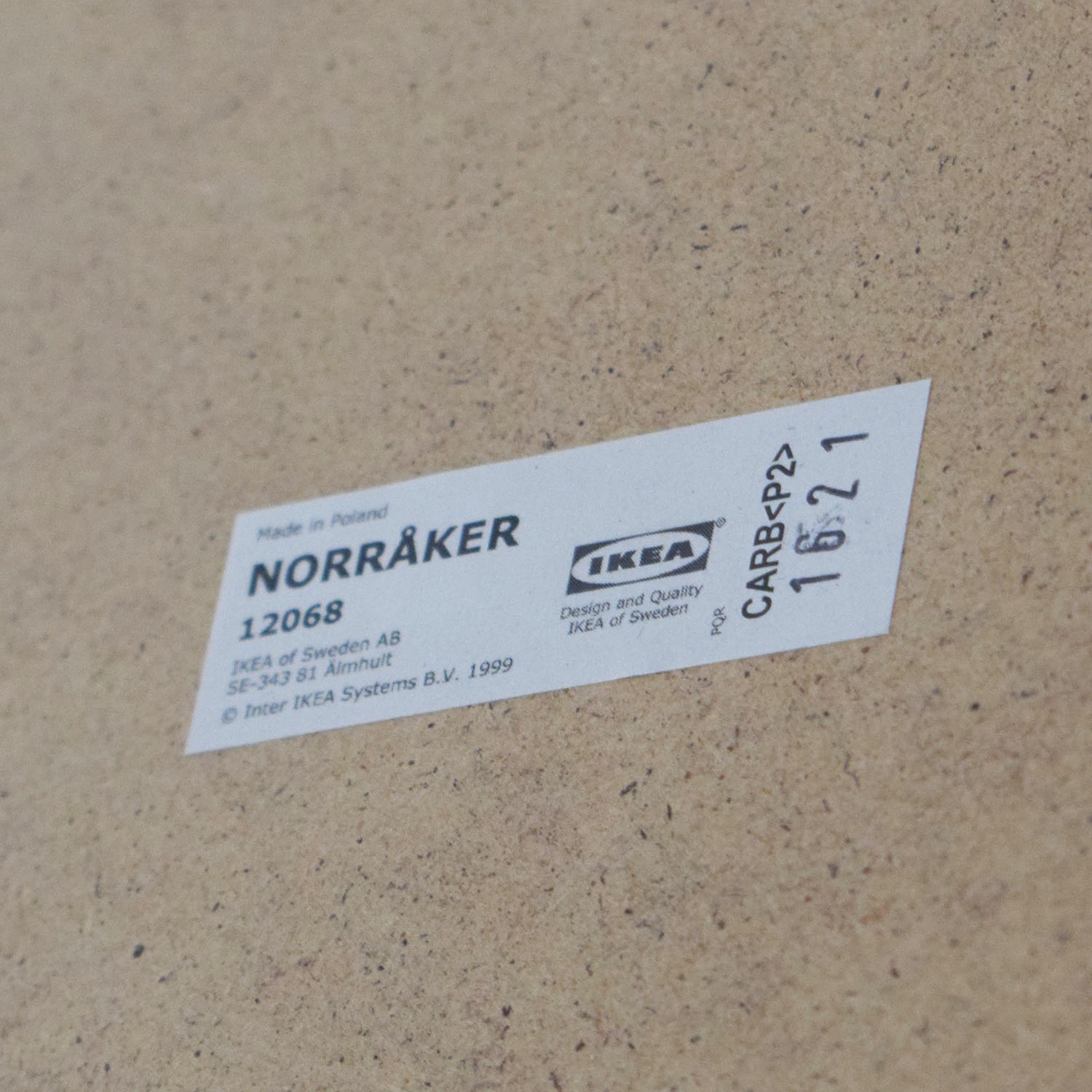 IKEA IKEA Norraker Natural Kitchen Island Utility Tables
