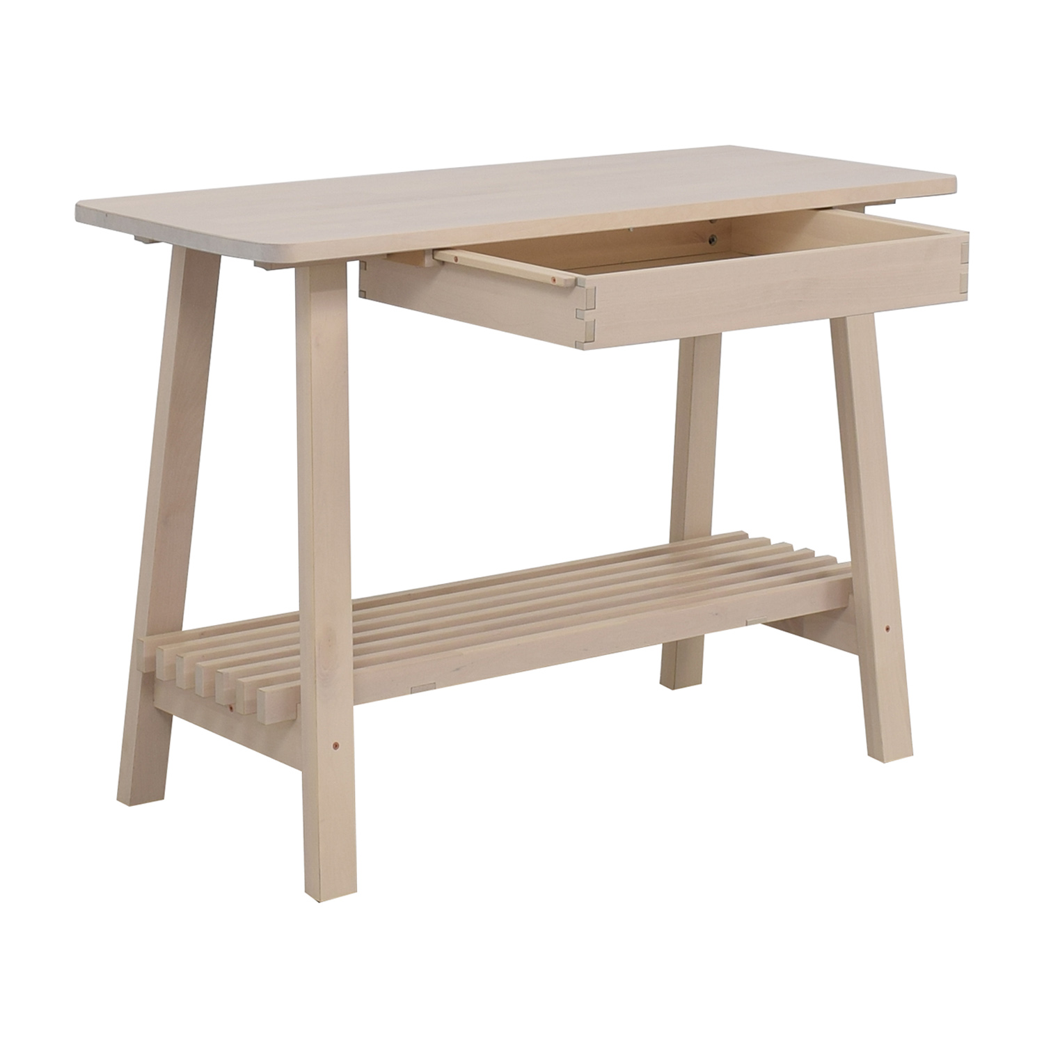 shop IKEA Norraker Natural Kitchen Island IKEA Utility Tables