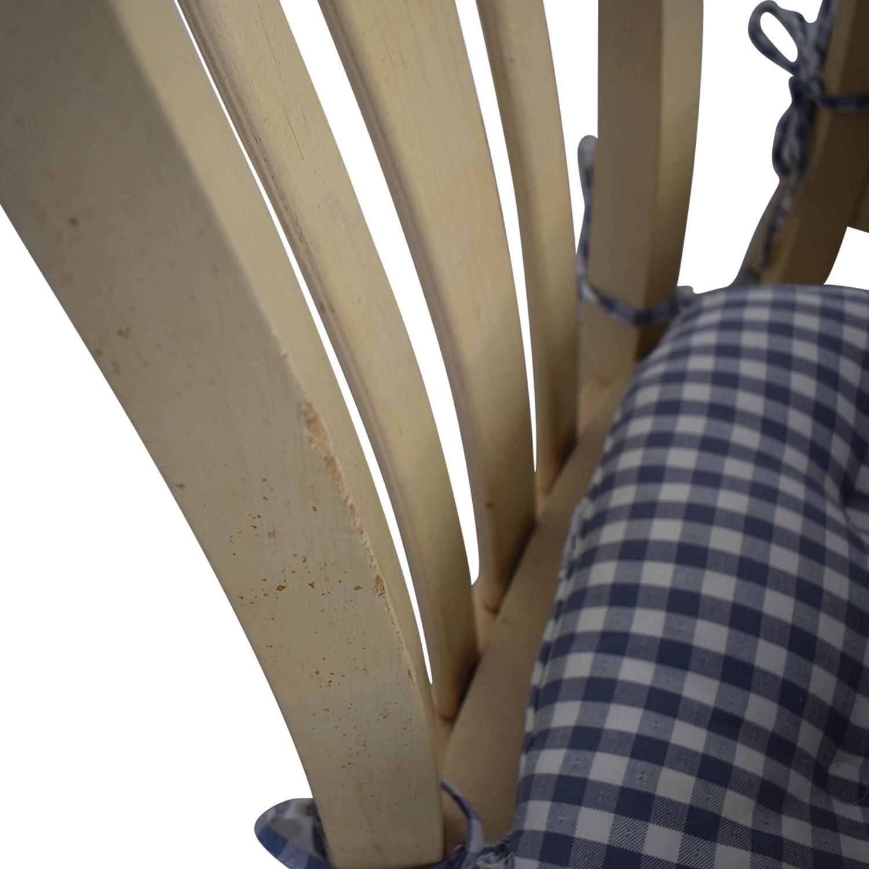 Bassett Furniture Bassett Furniture Blonde Wood Dining Set with Seat Cushions coupon