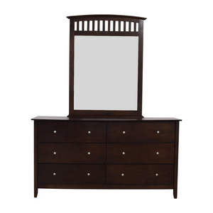 Bob's Discount Furniture Dresser with Mirror Bob's Discount Furniture