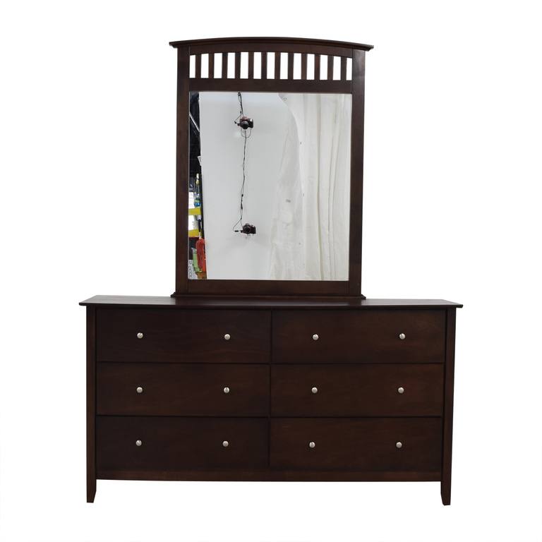 buy Bob's Discount Furniture Dresser with Mirror Bob's Discount Furniture