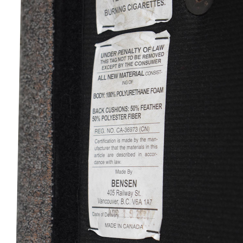 buy Design Within Reach Design Within Reach Bensen Neo Grey Chaise Sectional online