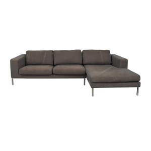 Design Within Reach Design Within Reach Bensen Neo Grey Chaise Sectional used