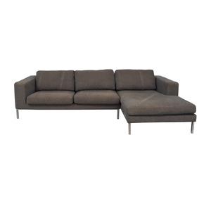 Design Within Reach Design Within Reach Bensen Neo Grey Chaise Sectional price