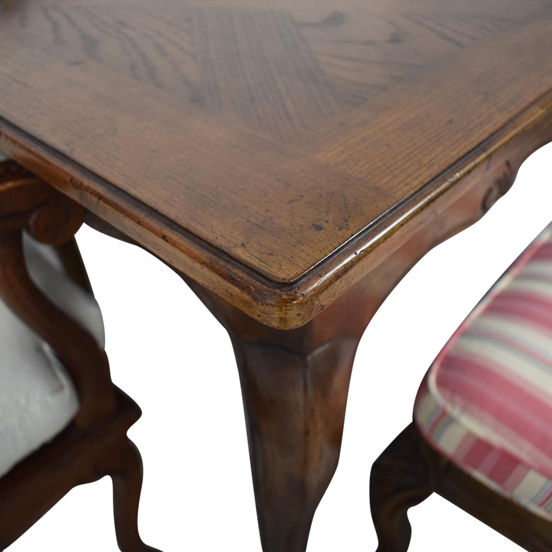 buy Hekman Furniture Upholstered Dining Set Hekman Furniture