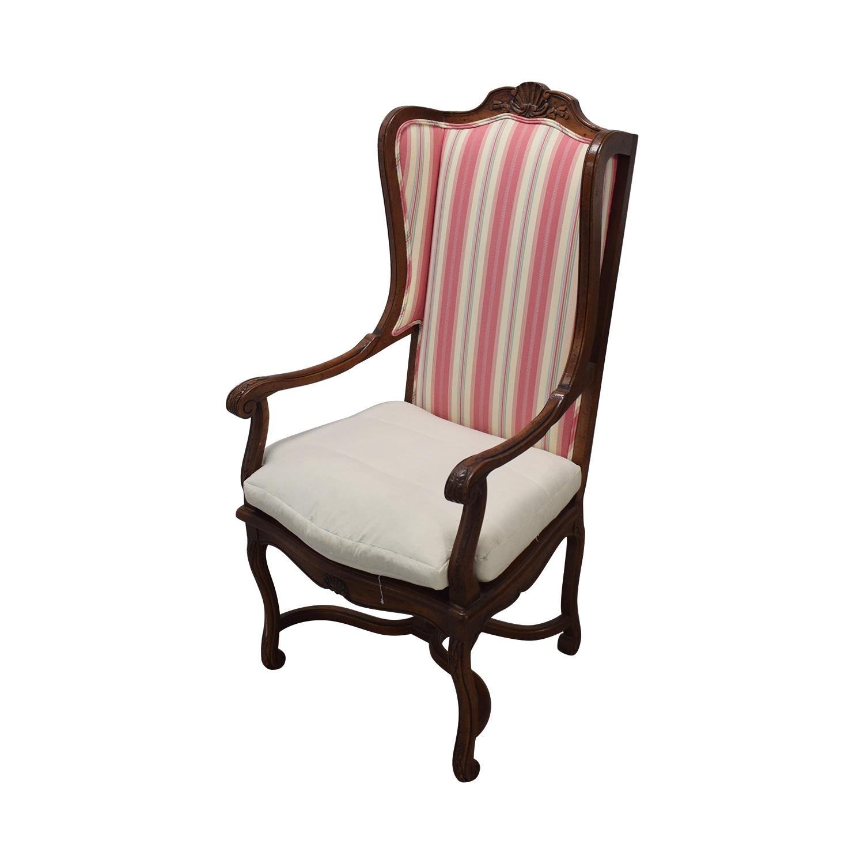 Hekman Furniture Hekman Furniture Upholstered Dining Set dimensions