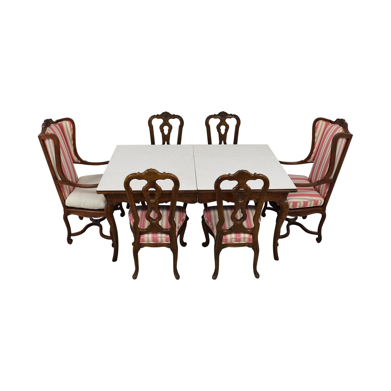 shop Hekman Furniture Upholstered Dining Set Hekman Furniture Dining Sets