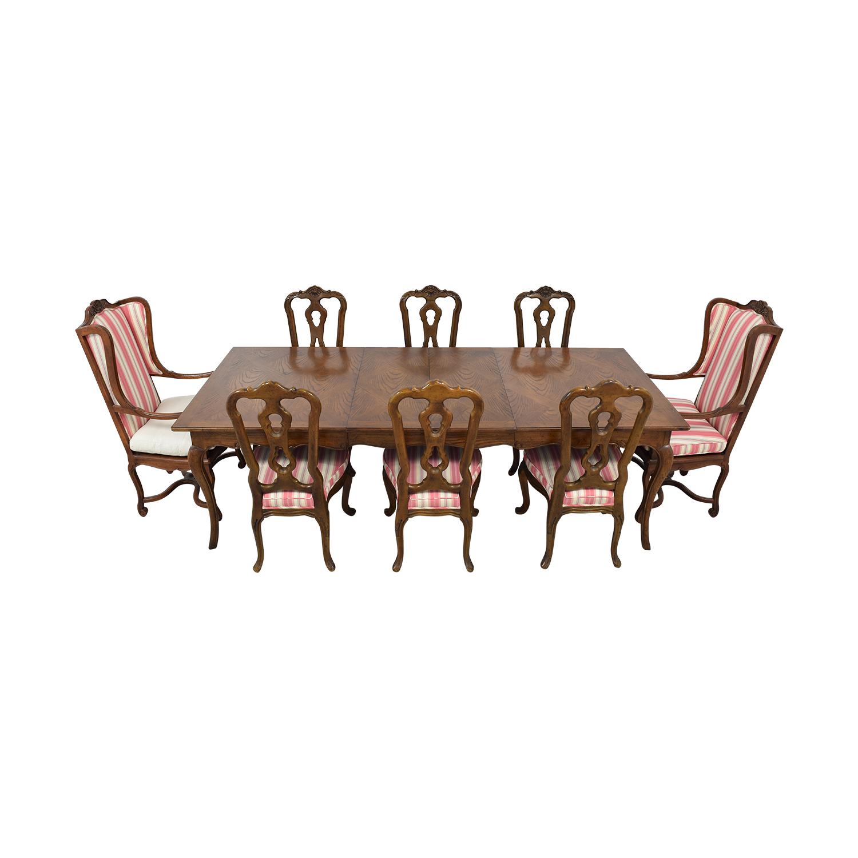 Hekman Furniture Hekman Furniture Upholstered Dining Set